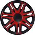 J-Tec Nascar Red Black 15'' červeno/černá (sada)
