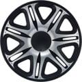 J-Tec Nascar Silver Black 16'' stříbrno/černá (sada)