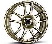 Borbet RS (BRO) 7x17 5x100 ET38 Bronzový mat