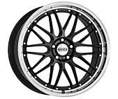 Dotz Revvo dark 8,5x19 5x120 ET33 Leštěný límec / Metalický šedý lak