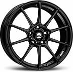 Sparco Gara (Black) 7x16 5x115 ET32 Černý mat