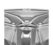 AEZ Portofino 8x17 5x112 ET45 Titanový lesk