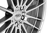 Dotz Thunder 8x18 5x120 ET35 Titanový lesk