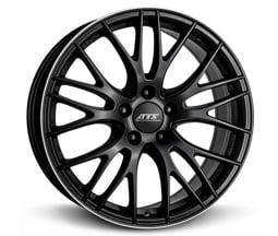 ATS Perfektion (RSHP) 8,5x19 5x120 ET35 Frézovaný lem / Černý mat