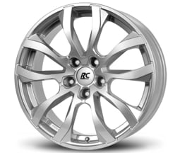 Brock RC23 (KS) 7,5x17 5x108 ET45 CB72,6 Stříbrný lak