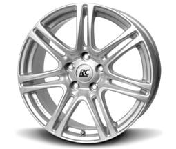 Brock RC28 (KS) 7,5x17 4X100 ET35 CB63,4 Stříbrný lak
