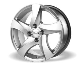 CMS C19 (KS) 6,5x15 5x100 ET37 Stříbrný lak