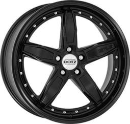 Dotz SP5 black edt. 8,5x19 5x114,3 ET34 CB71,6 Matně černý lak