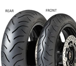 Dunlop GPR-100 120/70 R14 55 H TL F, Přední Skútr