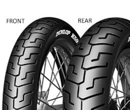 Dunlop K591 130/90 B16 67 V TL H.D., Zadní Sportovní/Cestovní