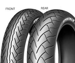 Dunlop SP MAX D220 ST 130/70 R17 62 H TL G, Přední Sportovní/Cestovní