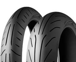 Michelin POWER PURE SC F 110/90 -12 64 P TL RF RF, Přední Skútr