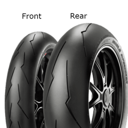 Pirelli Diablo Supercorsa V2 SC2 150/60 ZR17 66 W TL Zadní Závodní