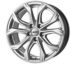 Alutec W10 (PS) 7,5x16 5x112 ET37 Stříbrný lak