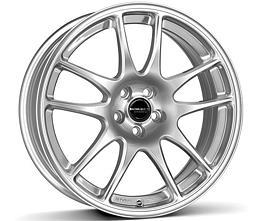 Borbet RS (BS) 7,5x18 4x108 ET25 Stříbrný lak