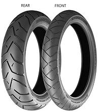 Bridgestone Battlax Adventure A40 120/70 ZR17 58 W TL G, Přední Enduro