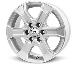 Brock RC31 (KS) 8x18 6x139,7 ET38 Stříbrný lak