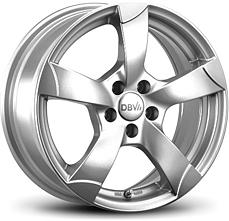 DBV Torino (KS) 6,5x15 5x112 ET38 Stříbrný lak