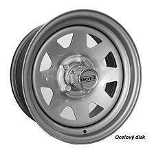 Dotz Dakar 7x16 5X139,7 ET0 Stříbrný lak