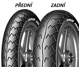 Dunlop ARROWMAX D103 140/70 -17 66 S TL A, Zadní Sportovní/Cestovní