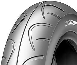 Dunlop D306 90/100 -10 53 J TL Přední/Zadní Skútr
