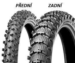 Dunlop GEOMAX MX11 100/90 -19 57 M TT Zadní Terénní