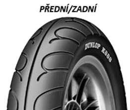 Dunlop K888 100/90 -10 56 J TL Přední/Zadní Skútr