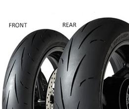 Dunlop SX GP RACER D211 M 120/70 ZR17 58 W TL Přední Závodní