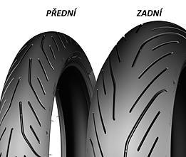 Michelin PILOT POWER 3 160/60 ZR17 69 W TL Zadní Sportovní