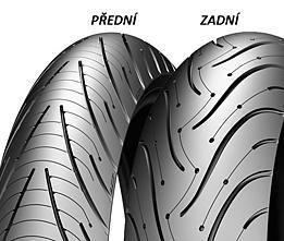 Michelin PILOT ROAD 3 180/55 ZR17 73 W TL B Zadní Sportovní/Cestovní