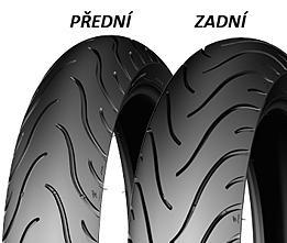 Michelin PILOT STREET 110/80 -17 57 S TL/TT Přední/Zadní Sportovní/Cestovní
