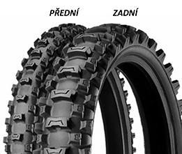 Michelin STARCROSS MS3 90/10 -16 51 M TT junior, Zadní Terénní