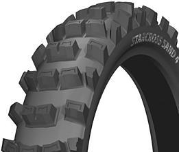 Michelin STARCROSS SAND 4 110/90 -19 62 M TT Zadní Terénní