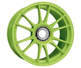 OZ ULTRALEGGERA HLT CL Green 8,5x19 15x130 ET53 Zelený lak