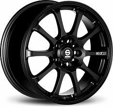 Sparco Drift (Black) 6,5x15 4x108 ET42 Černý mat