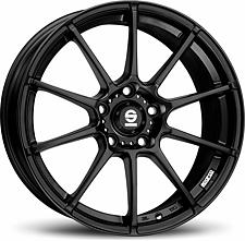 Sparco Gara (Black) 7x16 4x108 ET25 Černý mat