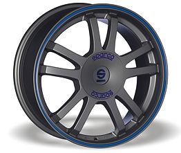 Sparco Rally (MS) 7x16 4x108 ET25 Šedostříbrný mat