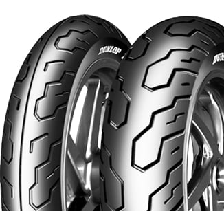 BAZAR - Dunlop K555 120/80 -17 61 H TL Přední Cestovní