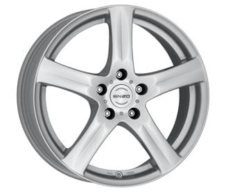 BAZAR - Enzo G 7,5x17 5x105 ET40 CB56,6 Stříbrný lak