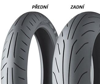 BAZAR - Michelin POWER PURE 190/50 ZR17 73 W TL Zadní Sportovní/Cestovní