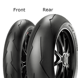 Pirelli Diablo Supercorsa V2 SC2 180/55 ZR17 73 W TL Zadní Závodní